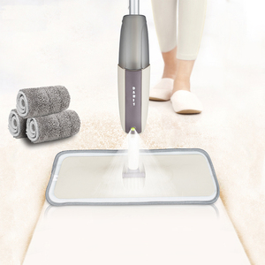 Spray Floor Mop with Reusable Microfiber Pads 360 Degree Handle Mop for Home Kitchen Laminate Wood Ceramic Tiles Floor Cleaning(China)