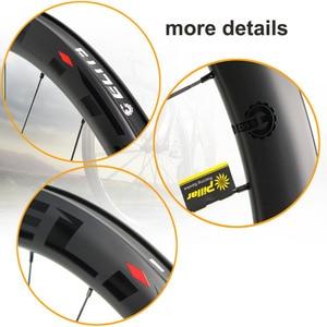 Image 5 - עלית פחמן גלגלי דיסק בלם 700c כביש אופני זוג גלגלי ENT UCI שפת פחמן באיכות עם מרכז מנעול או 6 כתם בוק כביש רכיבה על אופניים