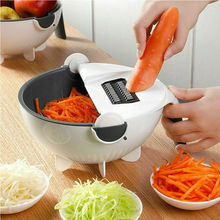 2019 New Multifunction Rotate The Vegetable Potato cutter Slicer Creative Kitchen Tools