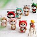 DIY handgemachte hausgemachte Pet Puppe Spielzeug wolle filz Nicht Fertige Wolle Nadel filzen Kit Shiba Inu