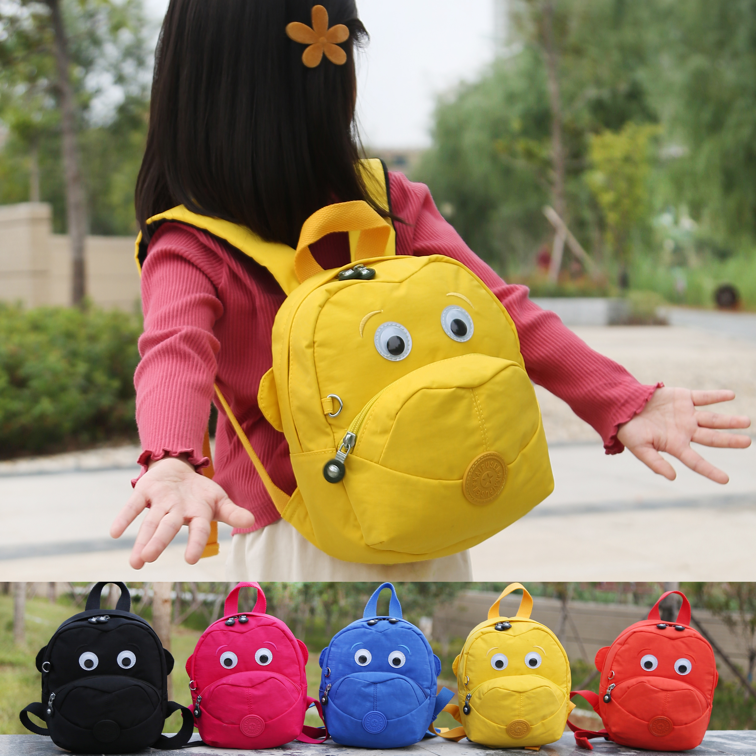 Kid Bag Kindergarden Child Backpack Cartoon Baby School Bag