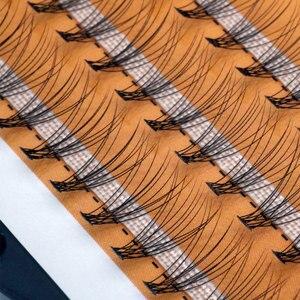 Image 5 - 60 יח\חבילה מלאכותי טבעי ארוך פרט אשכול ריסים מקצועי איפור השתלה מזויף false ריס תוצרת סין