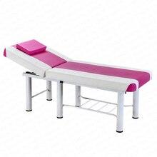 Высококачественная массажная кровать для красоты, массажная кровать для тату с 6-футовой регулируемой PU односпальной кроватью, профессиональный спа для массажной кровати