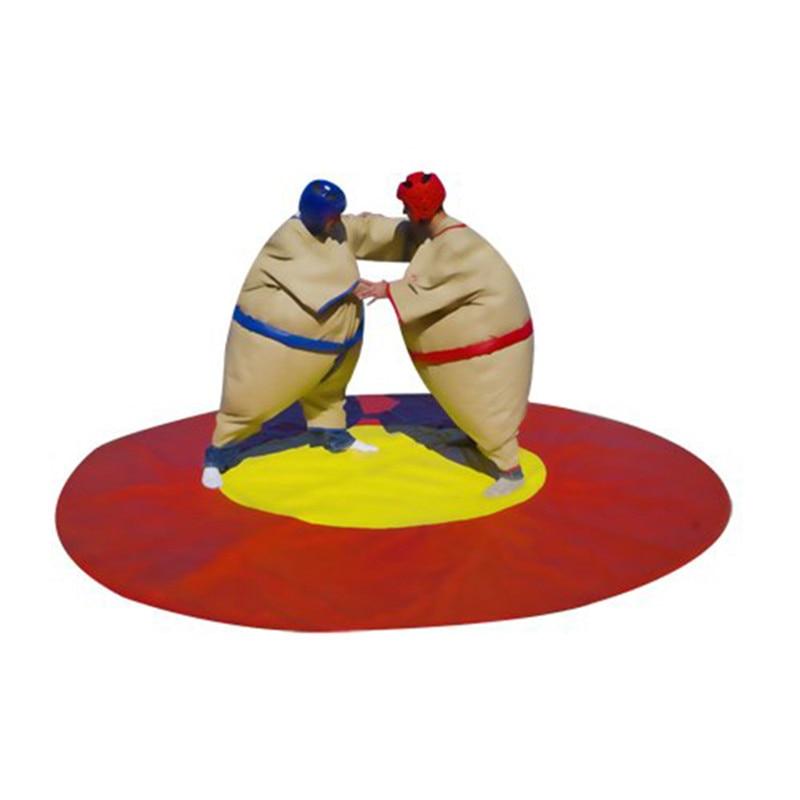 2019 offre spéciale 1.8m adulte gonflable Sumo lutte costumes Sport jeux parc d'attractions équipement de divertissement