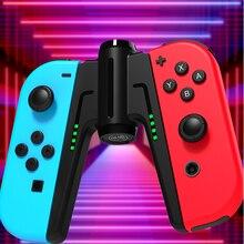 Manija de carga para mando de Nintendo Switch, Joycon, cargador, accesorios NS