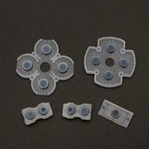 Image 5 - L1 r1 l2 r2 botões de gatilho, 3d análogos, joysticks, tampa de borracha condutor para controle de ps4, conjunto de reparo