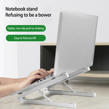 Hot Sell Lightweight Laptop Cooling Stand Plastic Vertical Laptop Stand Foldable Tablet