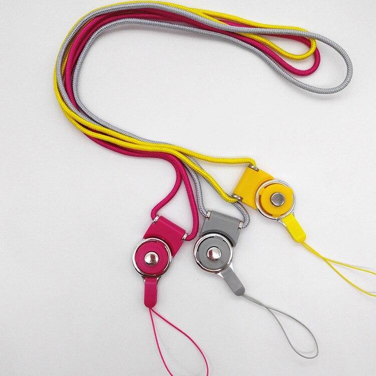 Detachable Nylon Mobile Phone Lanyard Neck-in-Lanyard Weaving Mobile Phone Shi Pin Sheng