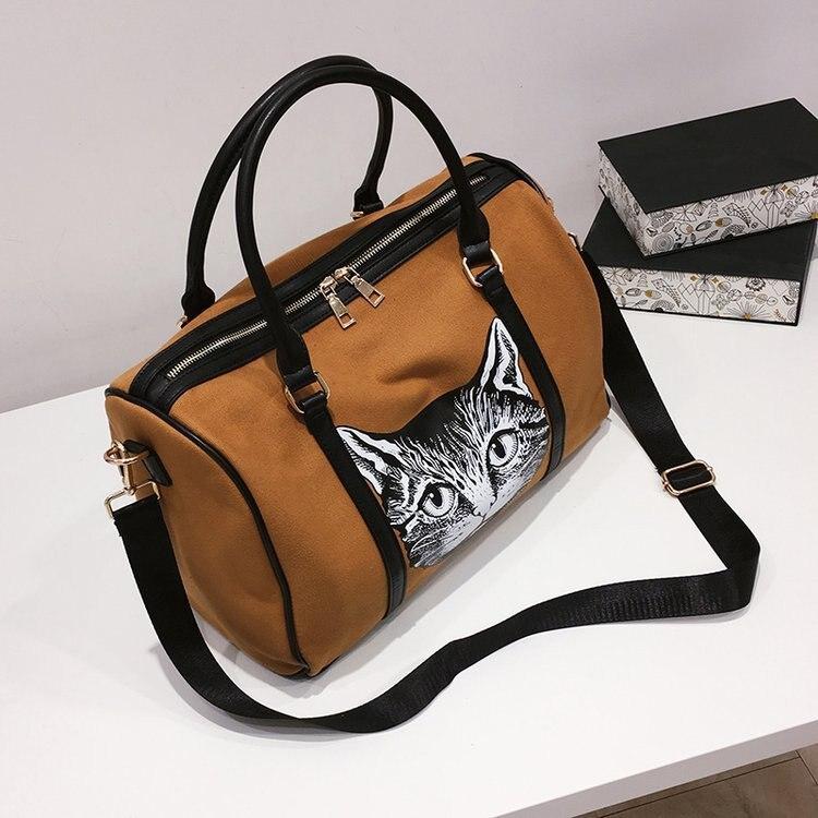 Travel Bag Female Handbag Short-distance Duffel Bag Male Light Travel Large-capacity Sports Fitness Bag Chic