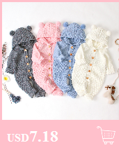 H7065420c12ac406a9e8d08a490e02950Y Baby Rompers Set Newborn Rabbit Baby Jumpsuit Overall Long Sleevele Baby Boys Clothes Autumn Knitted Girls Baby Casual Clothes