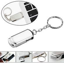100% capacity metal usb flash drive 2.0 pendrive memory stick 128mb 4gb 8gb 16gb 32gb promotional gifts for photography/business(China)