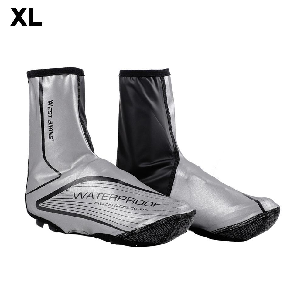 Fengyuanhong 1 Pair Cycling Shoe Covers Warm Man Woman Overshoes Road Bicycle Bike MTB Winter Shoe Cover