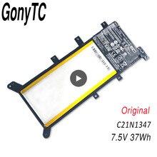 Gonytc 7.5v 37WH C21N1347新オリジナルasus X554L X555 X555L X555LA X555LD X555LN X555MA 2ICP4/63/134