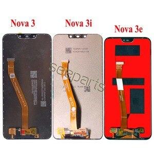 Image 2 - Huawei Nova 3 LCD Display Touch Screen PAR LX1 LX9 Nova 3i LCD INE LX2 L21 Nova 3e Display ANE LX3 L23 Screen Nova3 Replacement