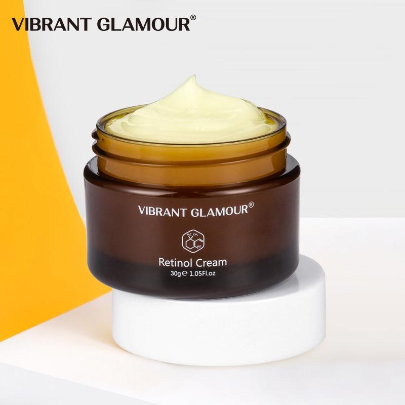 Canlı GLAMOUR Retinol yüz kremi sıkılaştırıcı kaldırma Anti-Aging kaldır kırışıklık beyazlatma parlatıcı nemlendirici yüz cilt bakımı