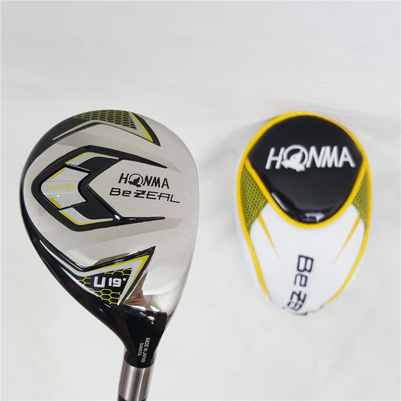 New golf club HONMA BEZEAL 525 full set, golf driver wood putter iron graphite shaft R or S golf club with hood, without bag 5
