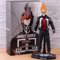 Hot Toys TMS 005 Marvel Agents of S.H.I.E.L.D. SHIELD Ghost Rider Figure Action 1/6 Scale Collectible Model Toy with LED Light