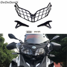 For Benelli TRK502 TRK 502X Headlight Guard Protector Grille Covers for Benelli TRK 502 Moto Parts Motorcycle Accessories