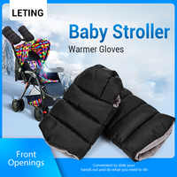 Mummy Stroller Warmer Gloves Pushchair Hand Muff Windtight Waterproof Pram Accessory Baby Buggy Clutch Cart Muff Winter Glove