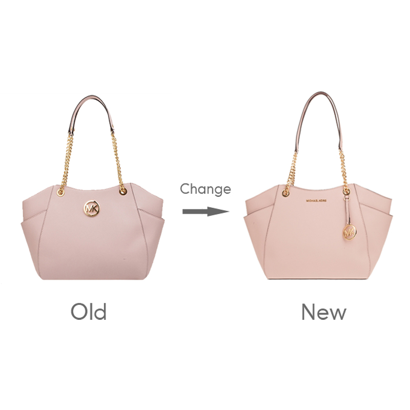 Authentic Bag Set Large Chain Leather Tote pouch35T5GTVT3L
