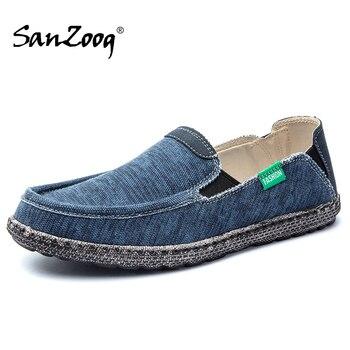 Zapatos de lona transpirables para Hombre Alpargatas informales sin cordones, Alpargata, suela...