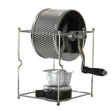 Protable Manual Handy Coffee Bean Roaster Set Stainless Steel Mill Hand Crank for Home Travel Camping Multifunction U1JE