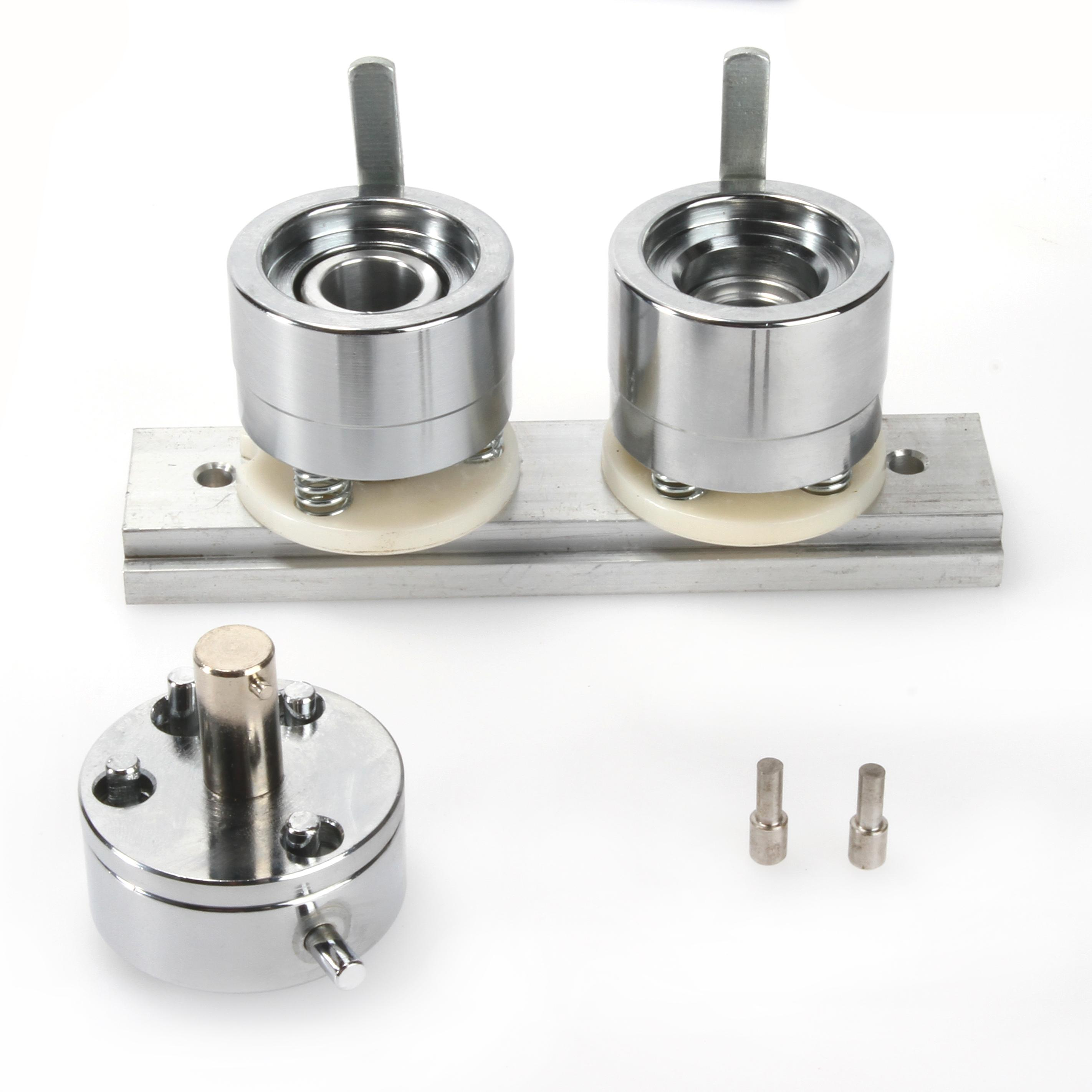 Badge Pin Making Mould Button Mould Maker Punch Press Machine Mold Die Punching Mould Pin Metal DIY 25MM/37MM/44MM/58MM/75MM