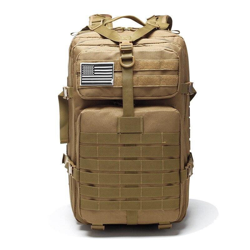 50L Large Capacity Military Assault BagTactical Backpack Men Army Rucksack Waterproof Outdoor Sport Hiking Camping Hunting Bags