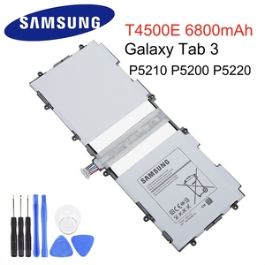 Samsung Original Replacement Battery T4500E 6800mAh For Samsung GALAXY Tab 3 P5210 P5200 P5220 Genuine Tablet Battery(China)