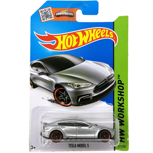 Image 2 - Hot Wheels 1:64 Car TESLA MODEL 3  S  X  Collector Edition Metal Diecast Model Cars Kids Toys Gift