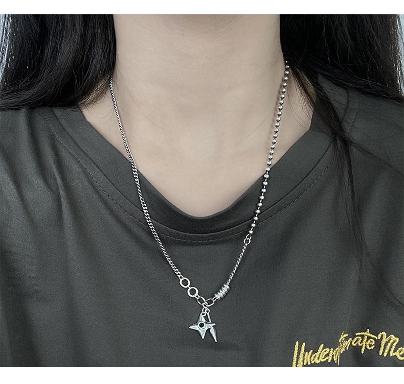 925 стерлинговые дротики Серебряные Подвеска кинжал Ожерелья