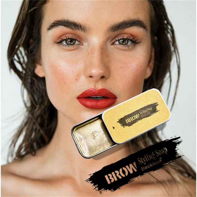 Crazy 3D Feather Brows Makeup Gel Soap Brows Kit Long Lasting Eyebrow Setting Gel Waterproof Eyebrow Tint Pomade Cosmetics 1