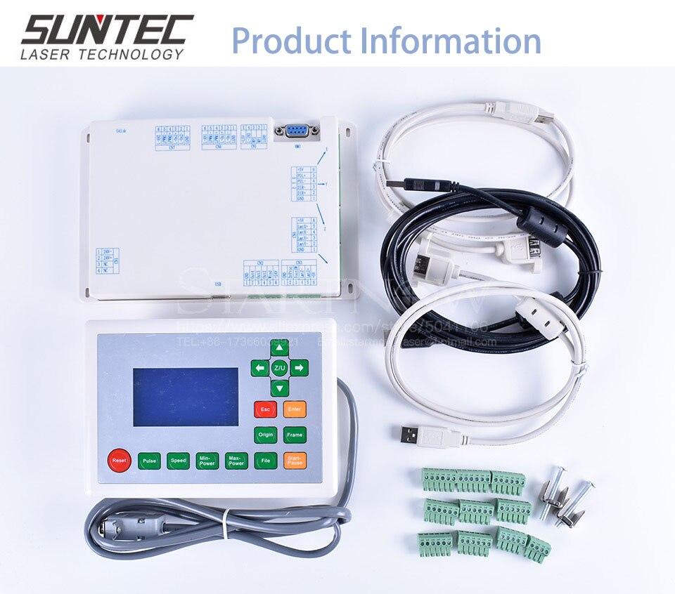 Suntec RDLC320-A CO2 лазерный контроллер RD RDLC320 материнская плата с ЧПУ материнская плата дисплей Панель для Co2 лазерной гравировки резки