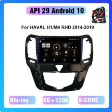 Cooling-Fan Video Android Multimidia COHO Octa-Core Radio-Screen Central 128G for HAVAL