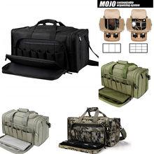 SoarOwl-Bolsa de pistola táctica para exteriores, bolsa de tiro de gran capacidad, multicolor opcional, cremallera resistente