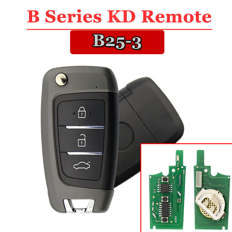 Free Shipping (1 Piece)B25 KD900 Remote  3 Button B Series Remote Key For URG200/KD900/KD200  Machine