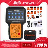 FOXWELL NT644 PRO système complet OBD2 Scanner lecteur de Code ABS SRS DPF EPB huile réinitialiser professionnel ODB2 OBD2 Auto voiture Diagnostic outil