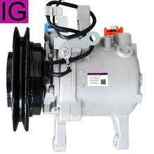 SV07E AC Compressor For Kubota M108S M5040 M7040 M8540 Tractor 3C581-50060 3C581-97590 447220-6771 447220-6750 447260-5780