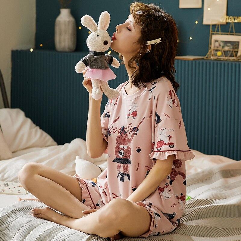 bzel-printemps-ete-femmes-pyjamas-mode-vetements-de-nuit-femmes-ensemble-a-manches-courtes-shorts-vetements-de-nuit-coton-doux-femme-homewear-pijama