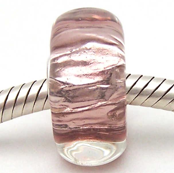 PJG1990 100% S925 Sterling Silver Perle di Murano perle di Vetro Europeo Adatto Pendenti E Ciondoli Braccialetto Pendenti e Ciondoli fai da te dei monili di Lampwork GlassBeads