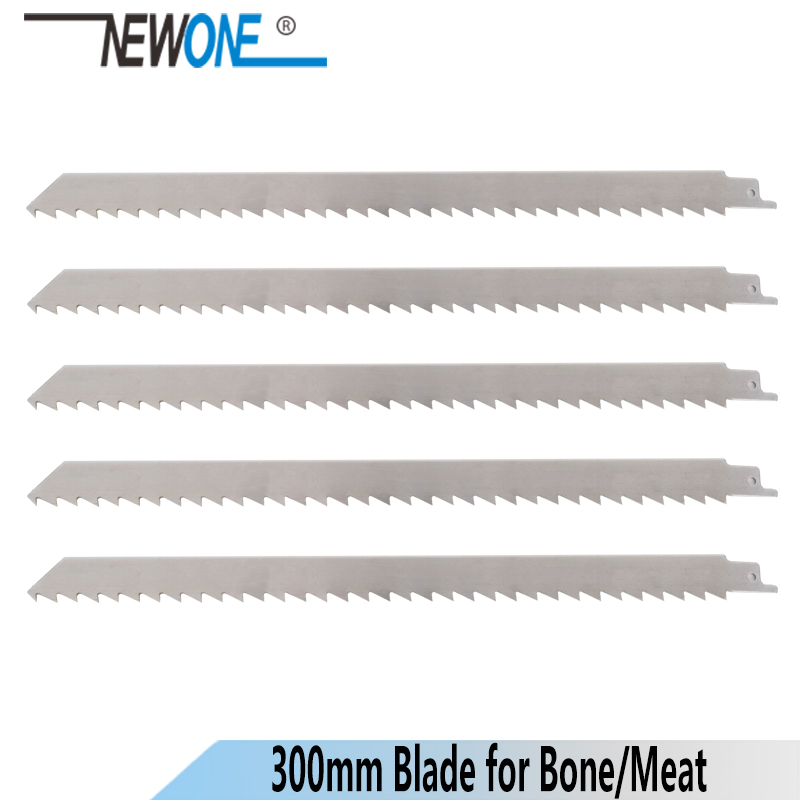 NEWONE Power Tool Accessory Saw Blades 300mm Stainless Steel Saber Saw Reciprocating Saw Blade  For Frozen Meat And Bone Cutting