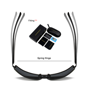 Image 4 - Bm Aluminium Frame Gepolariseerde Zonnebril Mannen UV400 Merk Designer Rijden Zonnebril Mannelijke Goggle Spiegel Vintage Oculos Masculino