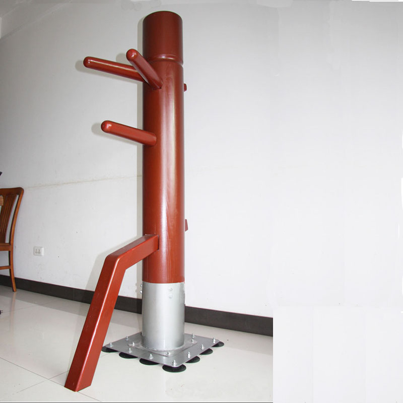free standing wooden dummy kungfu training wing chun wooden dummy for floor bruce Lee dummies chinese prop