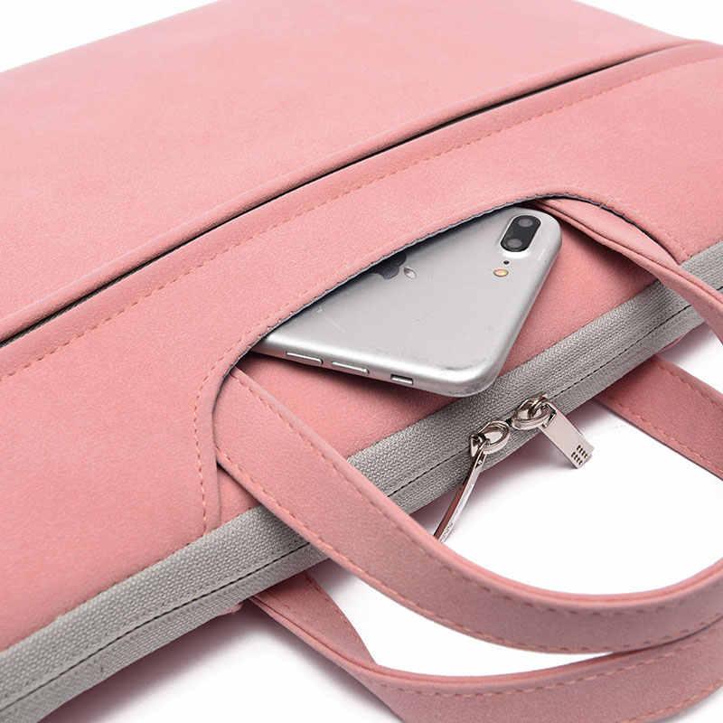 """Сумка для ноутбука сумка с ремешком для ноутбука 13,3 """"14"""" 15 """"15,6"""" PC мешочек с ручками чехол для Macbook Lenoovo Asus hp"""
