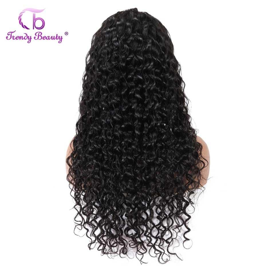 Peruanische Wasser Welle Perücke Für Schwarze Frauen 13*4/360 Spitze Front Menschliches Haar Perücken Pre Gezupft Wasser Welle Spitze perücken Trendy Schönheit Haar