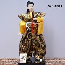 Myblue 30 см kawaii японский самурай с мечом Катана ниндзя скульптура
