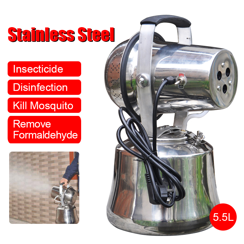 5.5L 1200W Sprayer Agricultural Electric ULV Fogger Intelligent Ultra Capacity Disinfection Machine Insecticide Atomizer