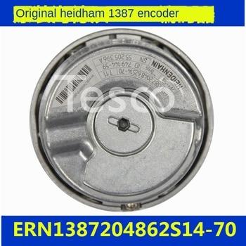 HEIDENHAIN 1387 encoder ERN1387204862S14-70 elevator rotary encoder HEIDENHAIN new original heidenhain elevator rotary sincos encoder 5v ecn1313 2048 id768295 54