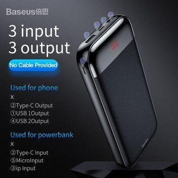 Baseus Power bank 20000 мАч 4