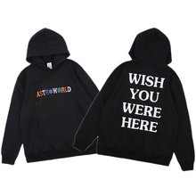 Travis Scott ASTROWORLD Hoodies Men Women Streetwear Embroidery Sweatshirts Fashion Casual Astroworld